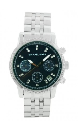 Michael Kors Ladies Chronograph Mother Of Pearl Stainless Steel Watch MK5021