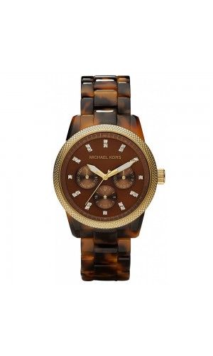 Michael Kors Ladies MK5399 Ritz Tortoise Watch