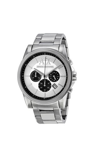 Armani Exchange AX2096 Mens Silver Dial Stainless Steel Watch