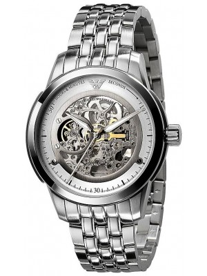 Emporio Armani Meccanico Automatic Mens Fashion Style Watch AR4626