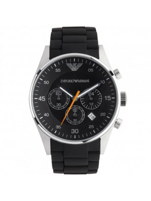 Emporio Armani AR5858 Black Dial  Quartz Mens Watch