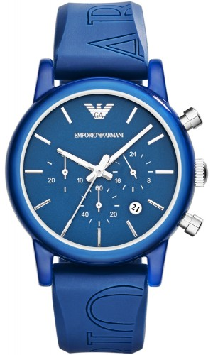Emporio Armani Blue AR1058 Classic Chronograph Watch