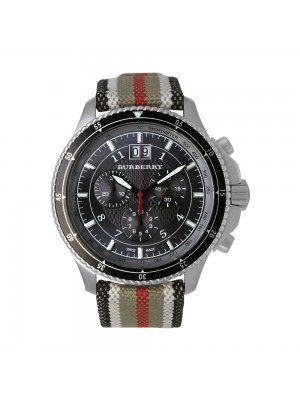 BU 7601 Burberry Endurance Woven Strap Watch for Men