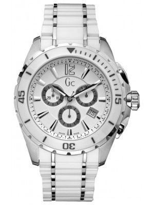 Guess Collection GC X76001G1S Sport White Ceramic Men's Watch