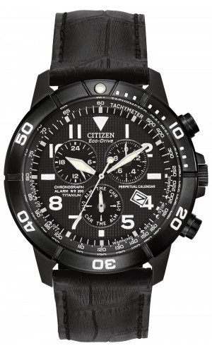 Citizen Eco-Drive Leather Perpetual Calendar BL5259-08E Luxury Watch