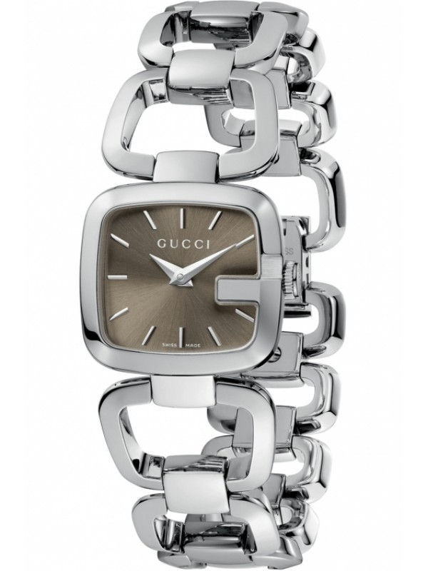 32864afe9cd Gucci G-Gucci YA125507 Womens Silver Luxury Watch