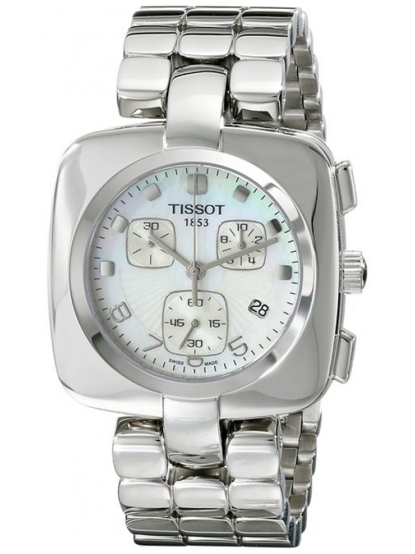 Tissot Odaci T Mother Of Pearl Chronograph Ladies T020 317