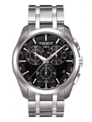 Tissot Couturier T035.617.11.051.00 Chronograph Bracelet Mens Luxury Watch