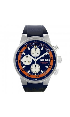 IWC Aquatimer Chronograph Cousteau Divers IW378101 Orange Luxury Watch
