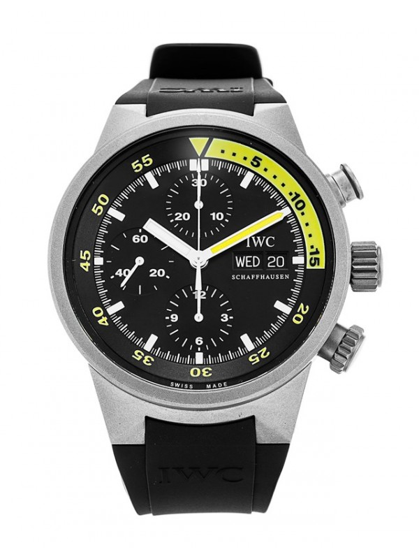 IWC Aquatimer Chronograph IW371918 Yellow Luxury Watch