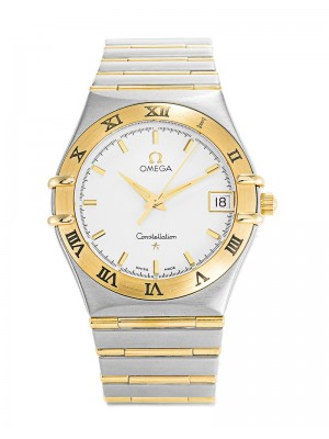 Omega Constellation  '95 18K Yellow Gold 34MM 1212.30.00 Watch
