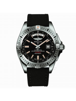 Breitling Galactic 44 Automatic Black Dial Automatic Men's Watch