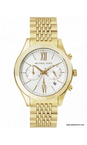 Michael Kors Brookton MK5763 watch with Two chronograph dials for ladies