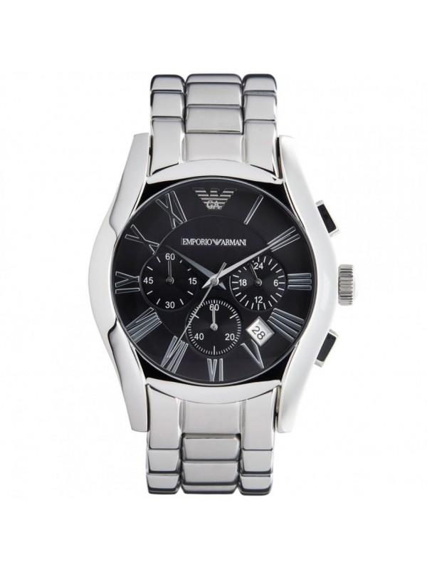 b95eb85c3de3 Emporio Armani mens AR0673 Silver watch