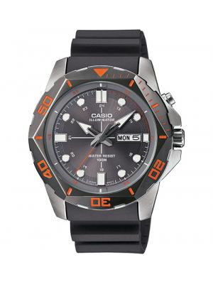 Black Casio Diver's Look Sports Men's MTD1080-8AV Watch