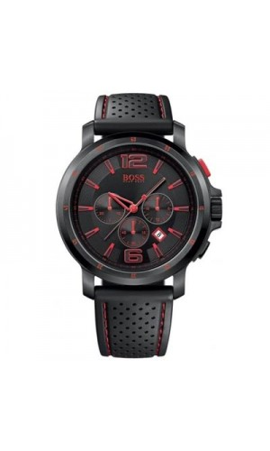Hugo Boss 1512597 Black & Red Chronograph Watch for Men