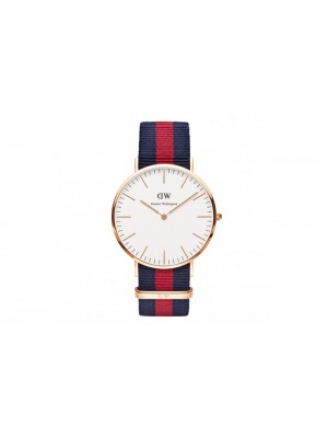 Daniel Wellington Classic Oxford NATO Watch with Interchangeable Straps for Men