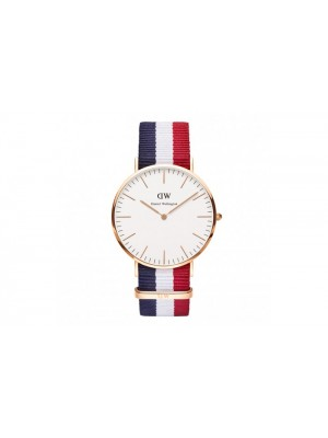 Daniel Wellington Classic Cambridge NATO Watch with Interchangeable Straps for Men