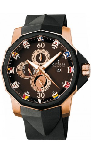 Corum Admiral's Cup Challenge 44 Black Rosegold Luxury Watch