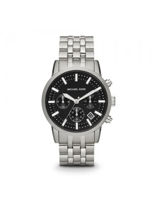 Michael Kors Scout Silver Dial Chronograph Mens Watch MK8316