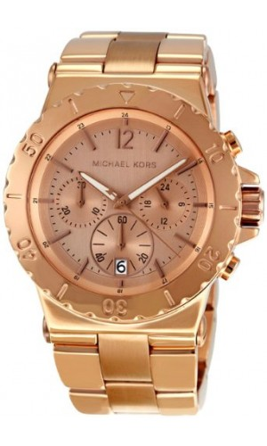 Michael Kors Ladies Classic Rosegold Chronograph watch MK5314