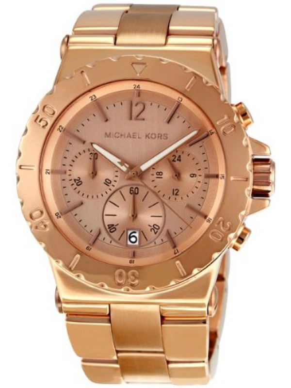 bf12551e4e41 Michael Kors Ladies Classic Rosegold Chronograph watch MK5314