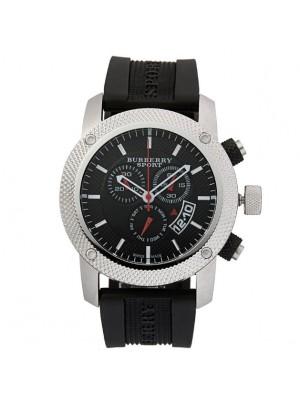 Burberry Sport Athlete Style Mens Chronograph Watch