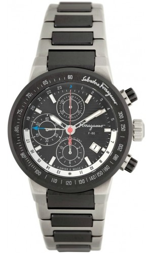 Ferragamo Mens F-80 Chronograph Watch