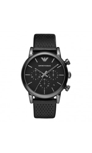 Armani Classic Chronograph Black Dial Men's Watch AR1737