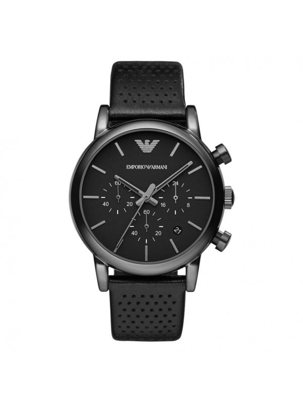 Armani Classic Chronograph Black Dial Men's Watch AR1737