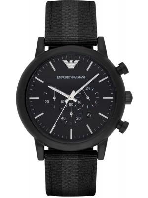Armani Luigi Chronograph Black Dial Men's Watch AR1948
