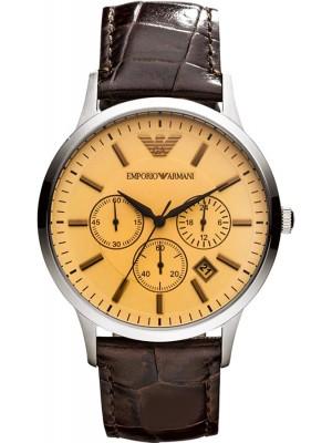 Armani Classic Chronograph Beige Dial Men's Watch AR2433