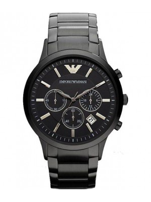 Armani Classic Chronograph Black Dial Men's Watch AR2453