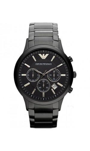 Armani Classic Chronograph Black Dial Men's Watch AR2453