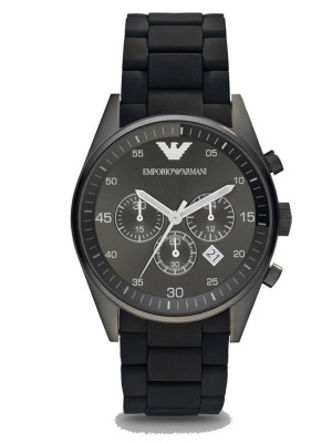 Armani Sport Chronograph Black Dial Men's Watch AR5889