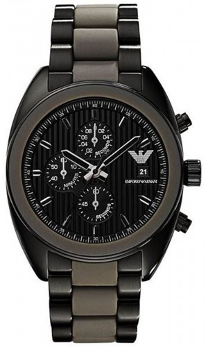 Armani Sportivo Chronograph Black Dial Men's Watch AR5953