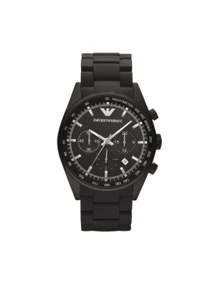 Armani Sportivo Black Chronograph Men's Watch AR5981