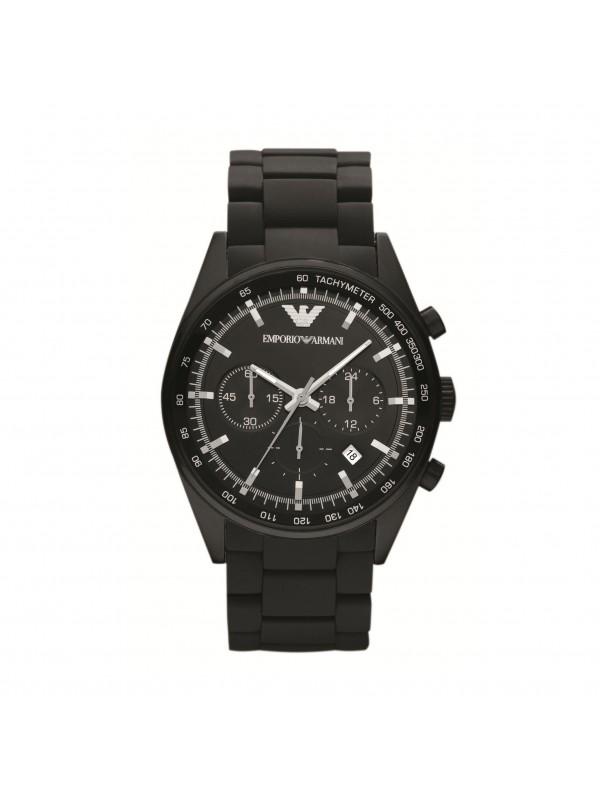Armani Sportivo Black Chronograph Men's Watch AR5981